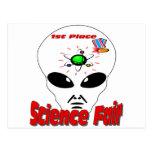 Feria de ciencia tarjetas postales