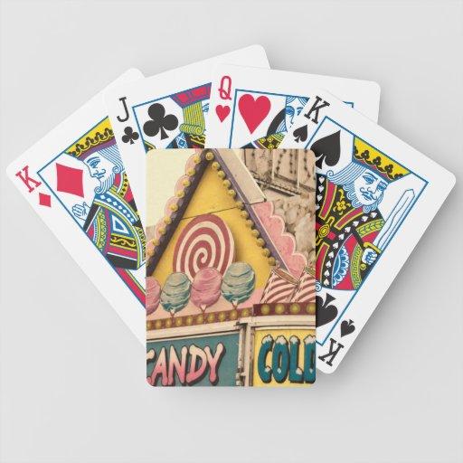 Feria de diversión cartas de juego