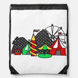 Feria de diversión mochilas