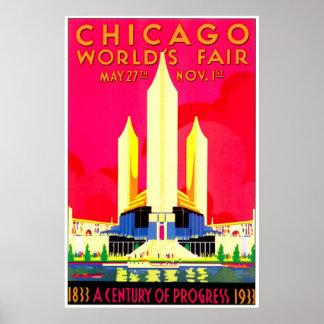 Feria de mundos de Chicago 1911 Póster