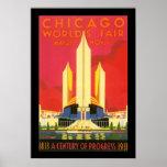 Feria de mundos de Chicago Posters