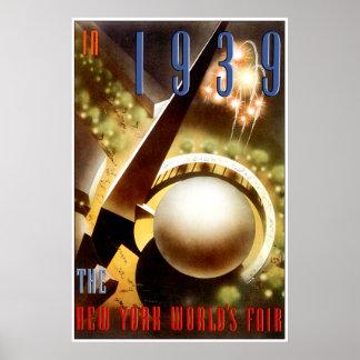Feria de mundos de Nueva York Poster