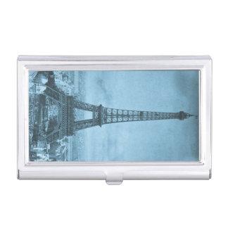 Feria de mundos de París de la torre Eiffel del Cajas De Tarjetas De Negocios