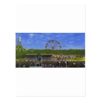 Feria del condado tarjeta postal