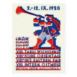 Feria internacional del este 1928 de Lwow Postal
