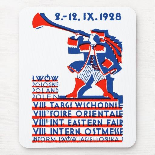Feria internacional del este 1928 de Lwow Tapetes De Raton