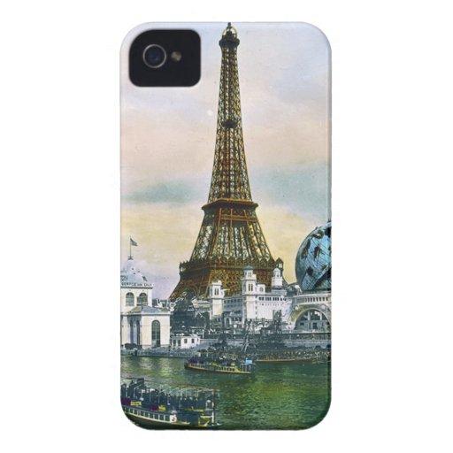 Feria mundial 1889 de París Francia - viaje del Carcasa Para iPhone 4 De Case-Mate