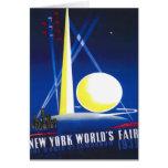 Feria mundial 1939 de Nueva York Tarjeton