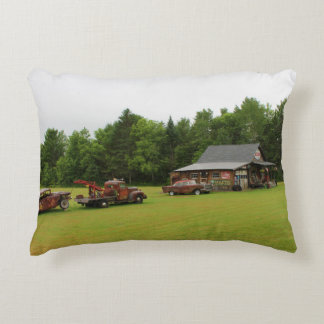 Ferland Motor Company Museum Summer 2016 Decorative Pillow