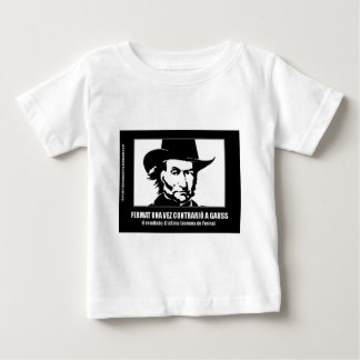 Fermat versus Gaussian Baby T-Shirt