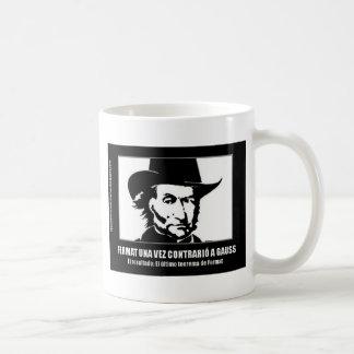 Fermat versus Gaussian Coffee Mug