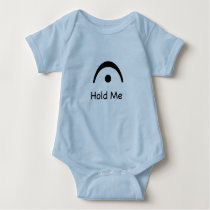 Fermata Music Hold Me Baby Jersey Bodysuit
