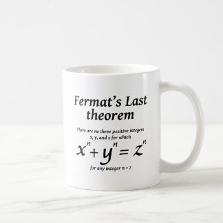Fermat's Last Theorem Coffee Mug