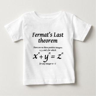 Fermat's Last Theorem T-shirts