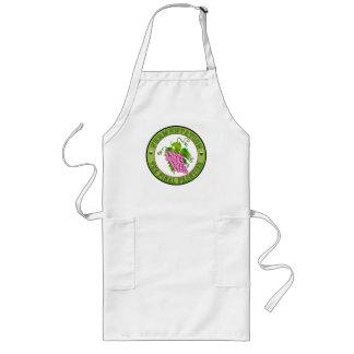 Fermentation of Grapes Long Apron