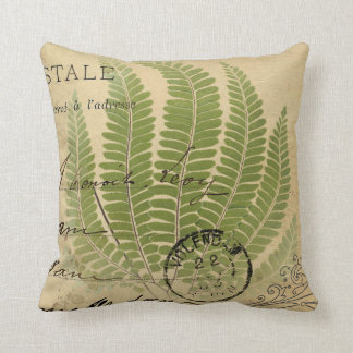 Fern 2 throw pillow