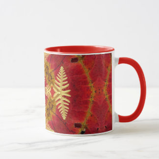 Fern and Leaf Mug
