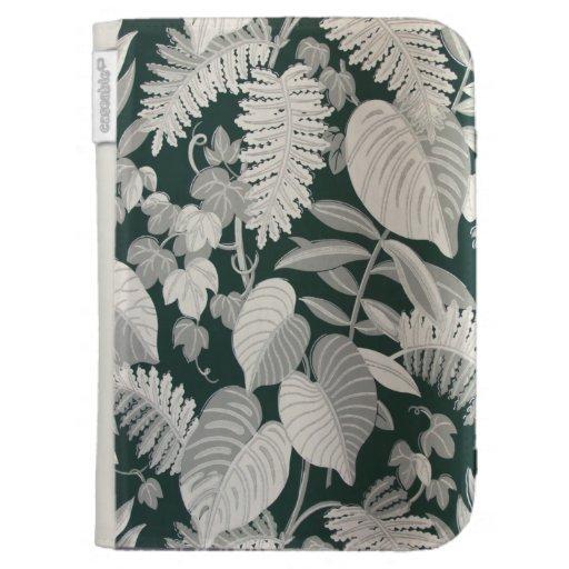 Fern and Leaf wallpaper, c. 1950 Kindle Cases