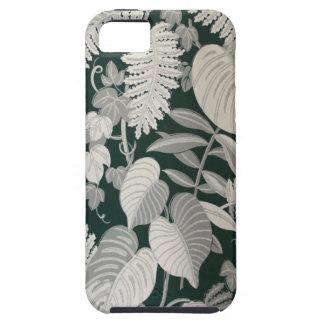 Fern and Leaf wallpaper, c. 1950 iPhone SE/5/5s Case
