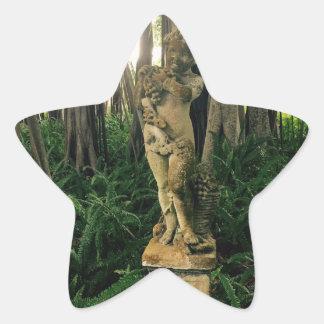 Fern Angel Star Sticker