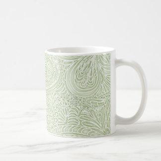 Fern Batik Paisley Coffee Mugs