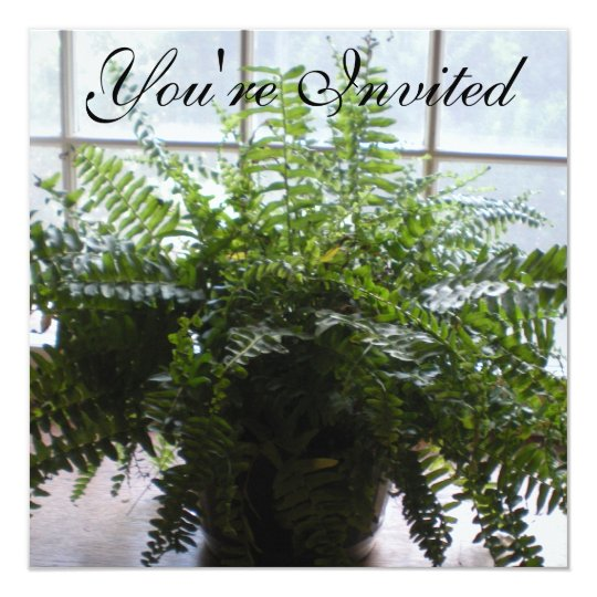Fern Bridal Shower Invitation