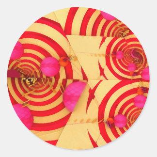 Fern Classic Round Sticker