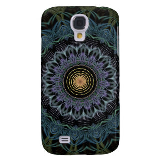 Fern Flame Kaleidoscope Samsung Galaxy S4 Cover