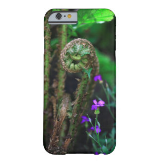 Fern & flowers barely there iPhone 6 case