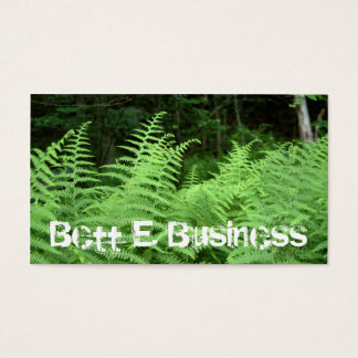 Fern Forest Business Card
