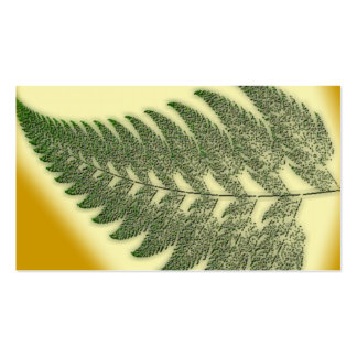 Fern Frond Business Cards