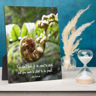 Fern Frond Plaques