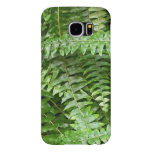 Fern Fronds I Green Nature Samsung Galaxy S6 Case