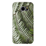 Fern Fronds II Dark Green Nature Samsung Galaxy S6 Case