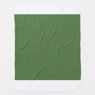 Fern Green Receiving Blankets
