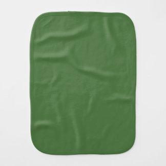Fern Green Burp Cloth