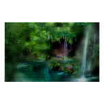 Fern Grotto Art Mural Posters