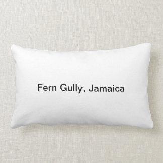 Fern Gully, Jamaica Pillow by Hipstrip