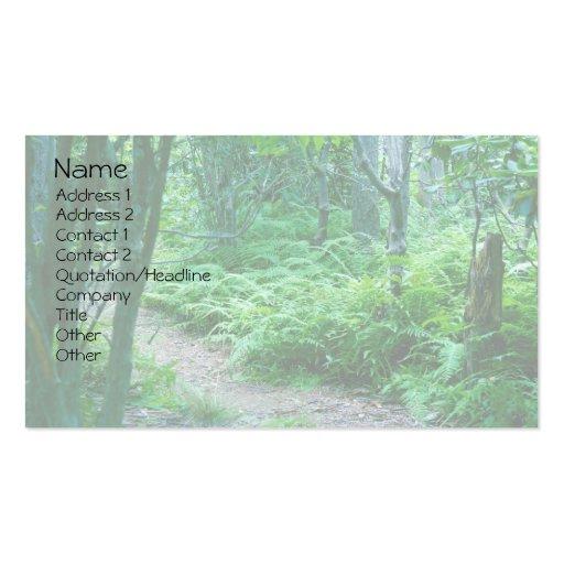 Fern Hiking Trail Business Card
