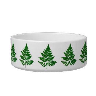 Fern leaf bowl