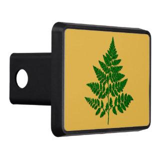 Fern leaf hitch cover