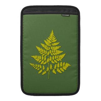 Fern leaf sleeve for MacBook air