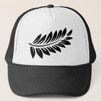 Fern leaf trucker hat