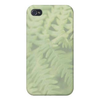 Fern Leaves, Light Green. iPhone 4 Cases