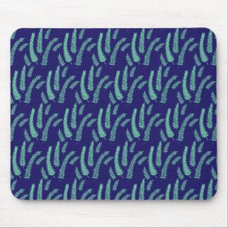 Fern Leaves Pattern Art Mouse Pad