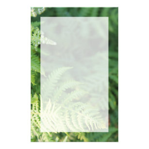 green leaves stationery zazzle