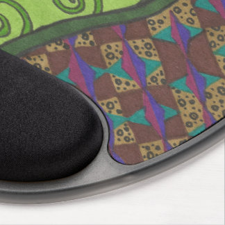 Fern Morning Gel Mouse Pad