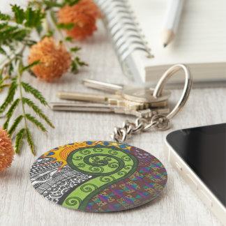 Fern Morning Keychain