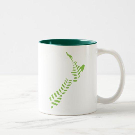Fern NZ 2 Two-Tone Mug