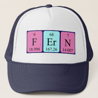 Fern periodic table name hat